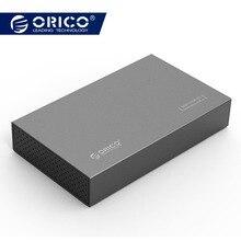 ORICO 3,5 pulgadas tipo-C HDD SSD disco duro externo caso USB3.1 a SATA3.0 de aluminio Disco Duro carcasa 5 GBPS para Mac de Windows XP