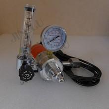 цена на CO2 Gas Regulator Gauge with Heater 220V BS341 Flow Meter Mig Welding Welder