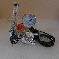 BS341 W22 CO2 Gas Regulator Gauge with Heater 220V Flow Meter Mig Welding Welder