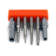 セキュリティビット鋼セット 3.8 ミリメートル 4.5 ミリメートルドライバーツール nintend スイッチファミコンスーパーファミコン N64 ドライバービットセット