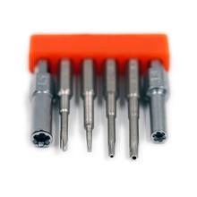 Sicherheit Bit Stahl Set 3,8mm 4,5mm Schraubendreher Werkzeug Für Nintend Schalter NES SNES N64 Schraubendreher Bit Set