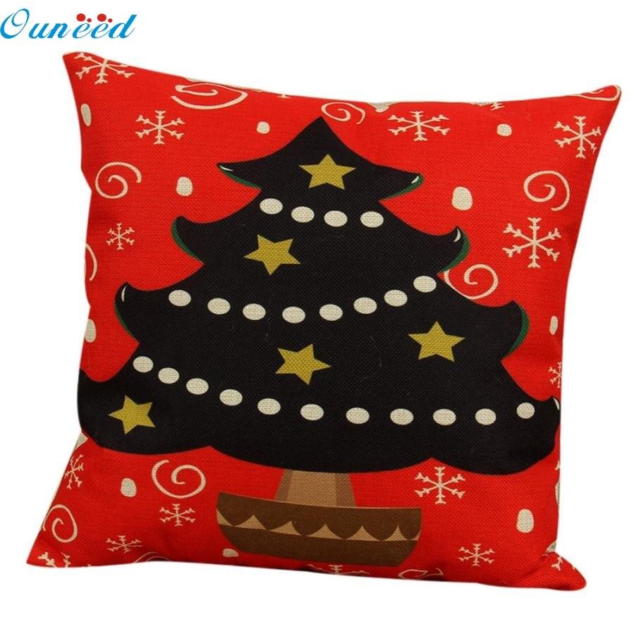 fashion heaven 4545cm vintage christmas sofa bed home decor pillow case cushion cover jun