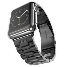 Оригинал носо Buiness стиль нержавеющей стали часы для Apple , часы 38 / 42 мм ссылка браслет