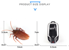 Simulation Infrared RC Remote Control  Insect Cockroach Toys robot anti-stress Gift For Adult Children Boy Update version Wings
