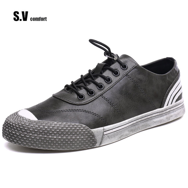 Men Fashion Shoes Casual Mixed Color Leather Shoes Casual Superstar ...