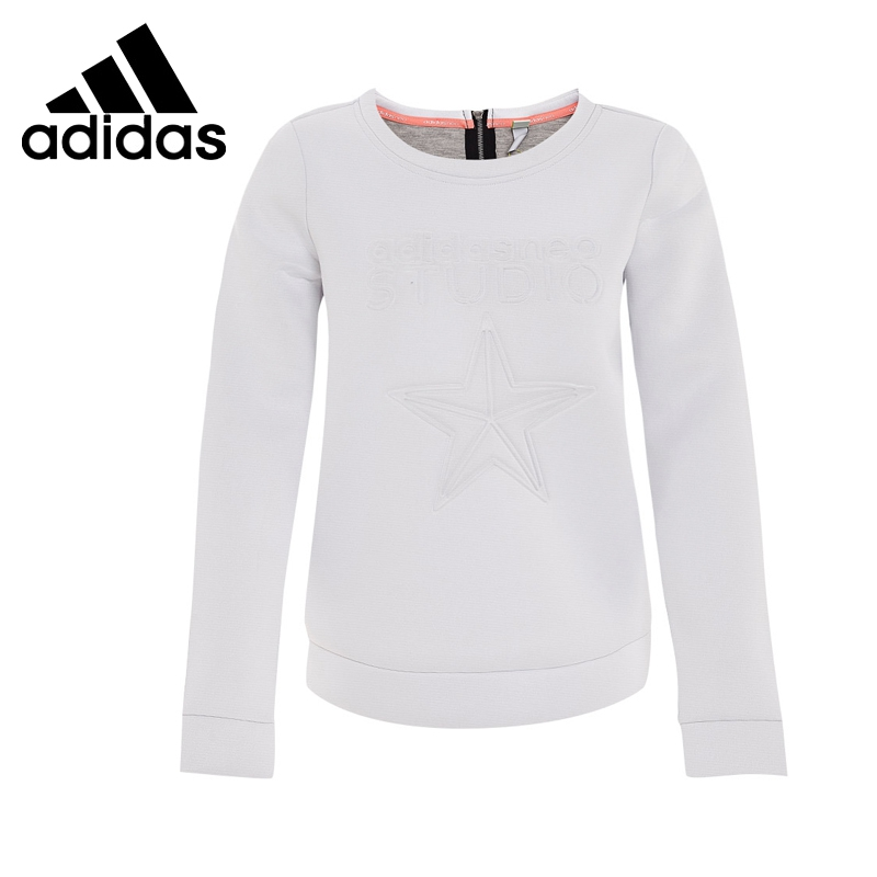 Original New Arrival  Adidas NEO Label Women's Pullover Jerseys Sportswear original new arrival official adidas neo men s breathable o neck pullover jerseys sportswear