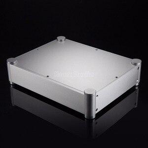 Image 2 - Nobsound Pre Amplifier Box Headphone Amp Case DAC DIY Chassis Aluminum Enclosure Silver