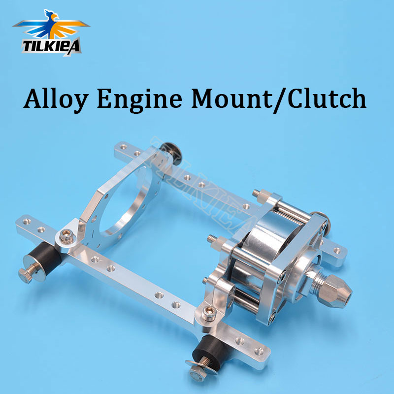 CNC de alta calidad de aleación de aluminio de montaje del motor o embrague para Zenoah motor marino RC Barco de Gas-in Partes y accesorios from Juguetes y pasatiempos    1