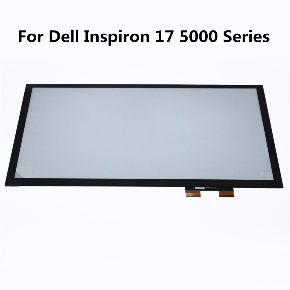 New 17.3 Touch Screen Digitizer Glass Replacement repairing parts for Dell Inspiron 17 5000 Series 17 5000 5758 5759 5755 5748 original touch screen digitizer for ipad mini2 white black new tp ic replacement glass screen