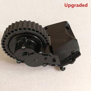 Image 4 - Po lewej stronie prawe koło dla odkurzacz robot ilife a4 a4s a40 X451 części do robota odkurzającego ilife a4 a4s koła obejmują koła silnik