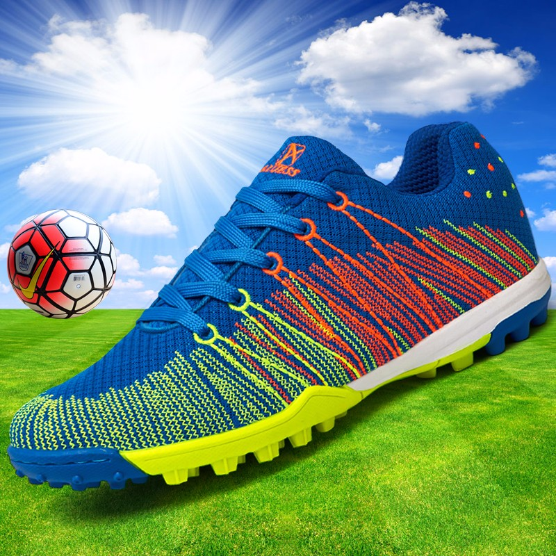 Mesh Soccer Shoes Football Boots Kids Boys Girl Flexible Flying Breathable New superfly botas de fuetbol Cleats voetbalschoenen  3