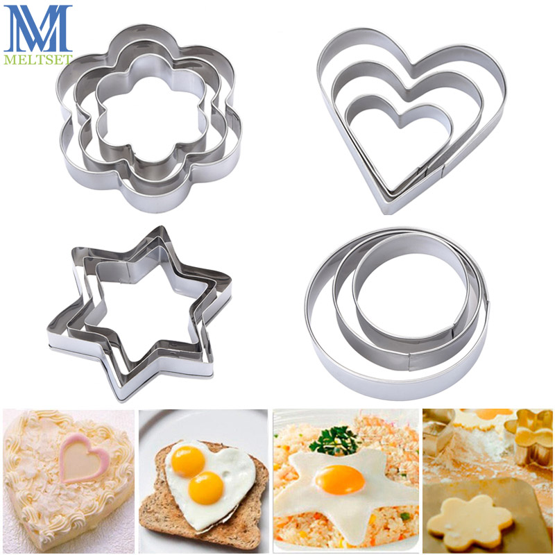 Sugarcraft /& Biscuit Star Cookie Cutter-Fondant 3 tailles