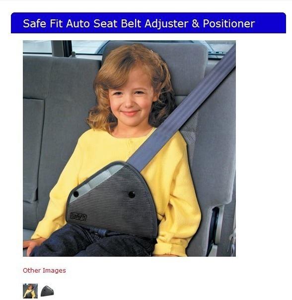 Safe fit thickening car safety belt adjust device child safety belt protector