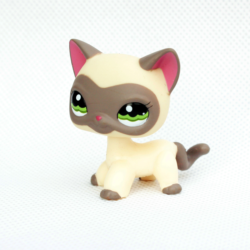 rare pet shop lps toys standing cat cream grey masked short hair kitten little yellow animal kitty with glasses форма для выпечки regent silicone натали