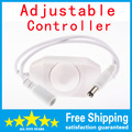 Hot Sale New Min LED Single Color Dimmer Amplify PWM Controller for 3528/5050 LED Light Strip Free Shipping