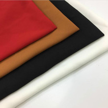Full Polyester Solid Color Plain Woven Fabric Hand-sewn Autumn and Winter Fashion Apparel Patchwork Textile Material