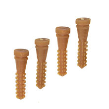 50 шт. 95 мм устройство для выщипывания птицы, для удаления волос, клей-карандаш, для курицы, говядины, Натяжной материал, кукурузный стержень