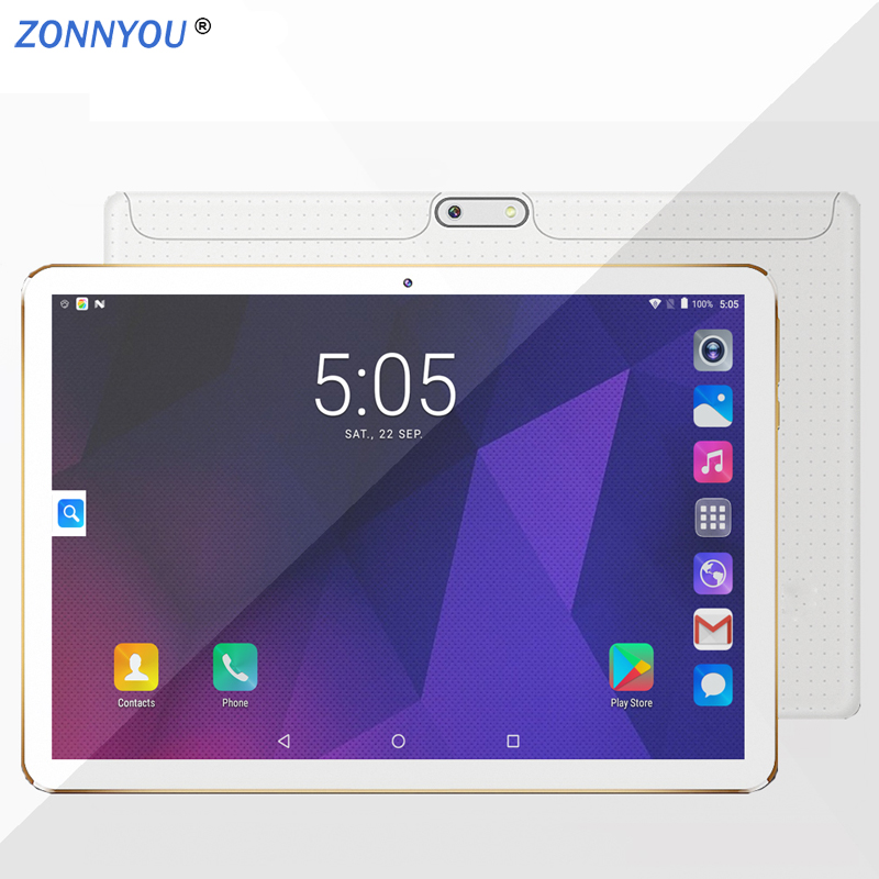 10.1 Inch Android Tablet PC Octa Core Android 7.0 3G Phone Call 4GB 64GB Support Google Play Dual SIM GPS OTG +From Moscow