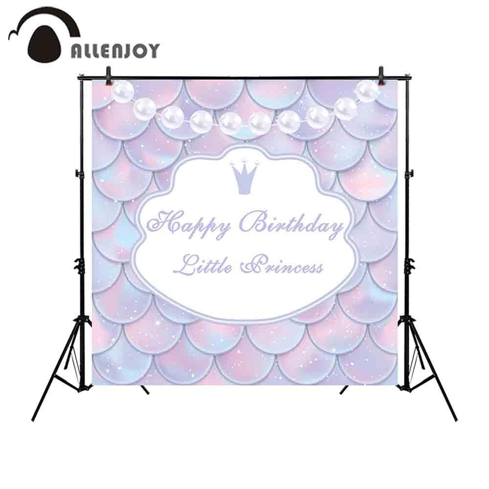 Allenjoy háttérrel fotózás stúdió Happy Birthday kis hercegnő - Kamera és fotó