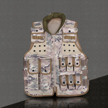 2017 Men's Clothing New Brand Casual Filed Activities Camouflage Men's Vest With Multi-pocket  Tactical Vest Three Colors