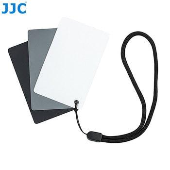 JJC Camera DSLR SLR Film Photography Small WB Tool 8.5×5.4cm White Balance Digital 18% Gray Card for Canon/Nikon/Sony/Pentax
