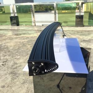 Image 3 - Slim Curved Led Light Bar For Car 12V 24V 4x4 Off road 4WD Atv Suv Trucks Combo Beams Barra Led Driving Work Lights