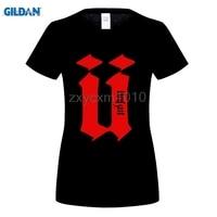 GILDAN 2017 Manera de la Venta Caliente mujeres Unkut Camiseta Hip impresión Personalizada Camisa de La Camiseta para mujer camisetas de manga Corta camisetas