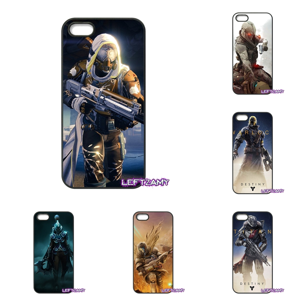 Destiny Gamer Tricon Titan Hard Phone Case Cover For iPhone 4 4S 5 5C SE 6 6S 7 8 Plus X 4.7 5.5 iPod Touch 4 5 6