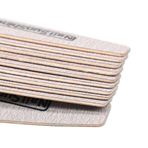 Image 5 - 50 Pcs Holz Nagel Datei 180/240 Grau Schleifpapier Gel Polieren Kurve Nagel Puffer Block kalk eine ongle profess Nagel Zubehör