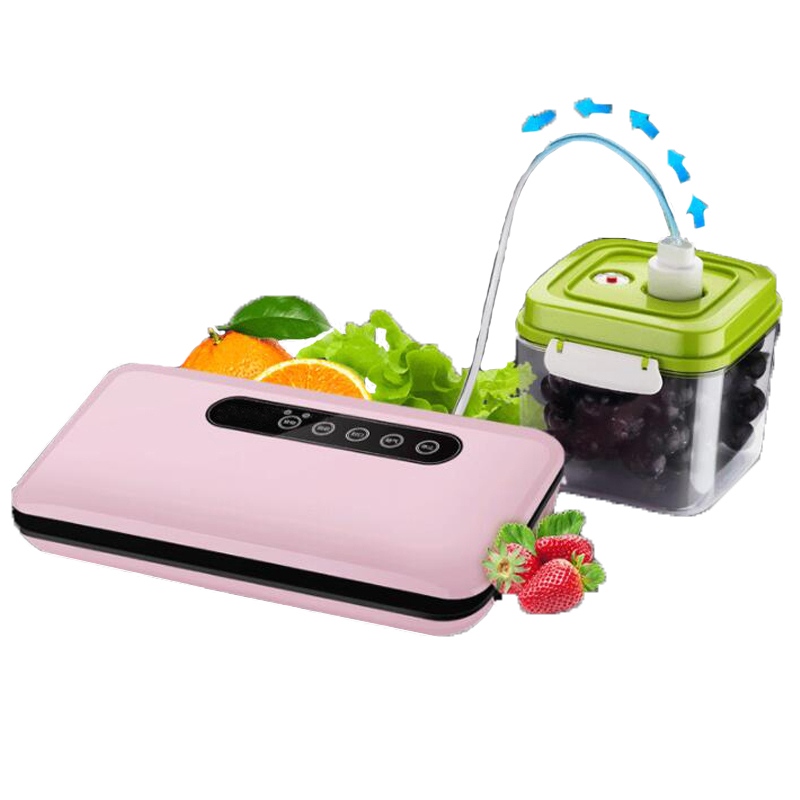 Household Food Vacuum Sealer Packaging Machine With 10pcs Bags Free 220V Automatic Commercial Best Vacuum Food
