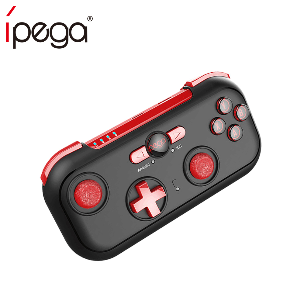 iPega PG-9085 PG 9085 Bluetooth Gamepad Joystick Pad Red Wizard Wireless Game Controller for Android/ iOS/ Nintendo/ Switch/Win ipega ios gamepad pc bluetooth wireless smart phone switch controller with lcd screen mobile game pad joystick android pg 9063