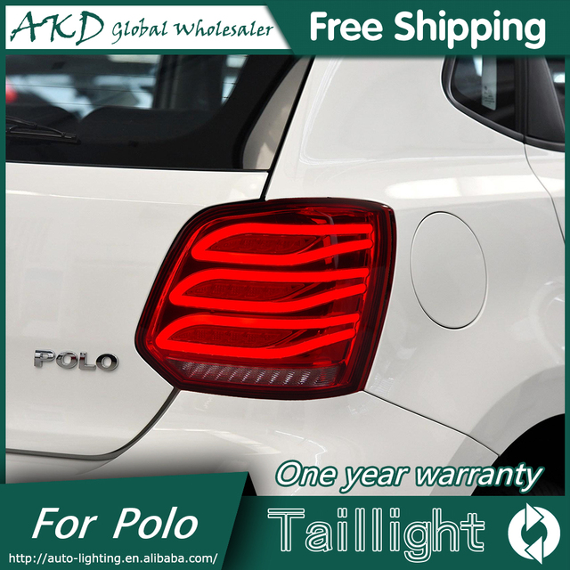 Akd Car Styling For Volkswvw Polo Lights Led Light Led Rear Lamp Drl Ke Trunk Light Automobile Accessories