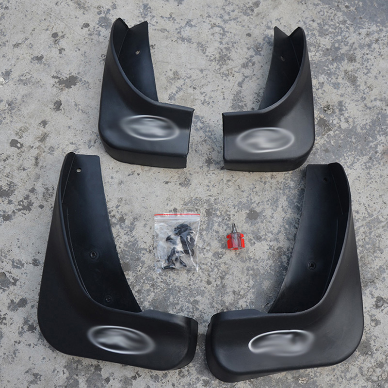 Free Shipping High Quality ABS Plastics Automobile Fender Mudguards Mud Flaps For 2007-2012 Ford Mondeo MK4