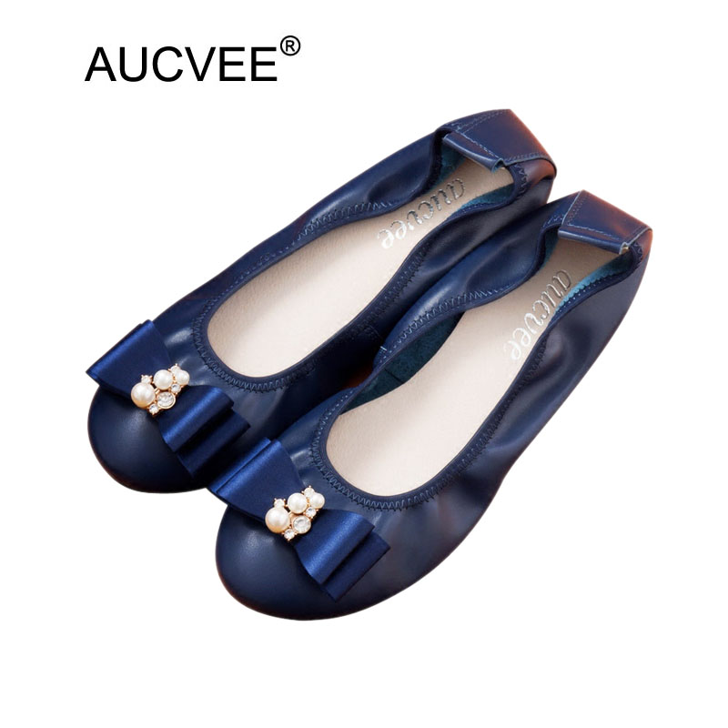 100 Genuine Leather Loafers Woman Round Toe Ballerines Femme Chaussures Slip On Black Flat Shoes For