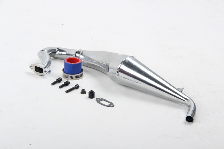 Losi t dominant v rear exhaust high speed tube pipe in