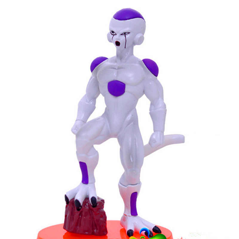 13.5 CENTÍMETROS Super Dragon Ball Son Goku Vegeta Estatueta Bonecas Brinquedos PVC Action Figure Model Collection Toy 6 pçs/set H534
