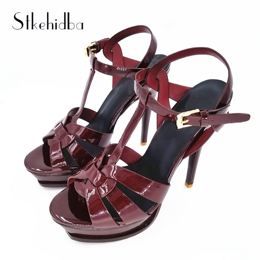 Stkehidba High Heels Women s Shoes Sexy Platform Pumps For Ladies Shoes Summer Peep Toe Women