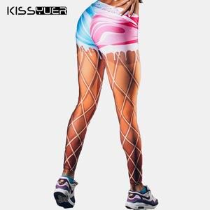e3bf13f41626f KISSyuer Women's Fitness Size Sexy Push Up Legging Pants