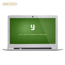 Amoudo 14 inch 4GB Ram+64GB SSD+500GB HDD Intel Pentium Quad Core Windows 7/10 System 1920X1080P FHD Laptop Notebook Computer