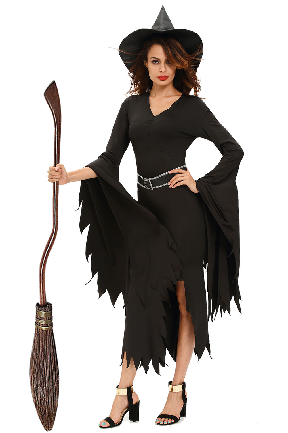 Popular Gothic Witch Costume Woman-Buy Cheap Gothic Witch Costume ...