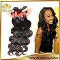 Перуанский волна девственница теле 3 шт. 8 - 30 дюймов rosa для волос, Дешевые человеческих волос 6a необработанные богородицы перуанский волос