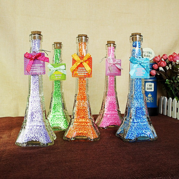 Paris Style Eiffel Tower Wishing Bottle Drifting Bottle