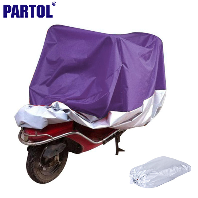 L XXL XXXL Motorcycle Cover Waterproof Dustproof Scooter Cover Outdoor Sportster Touring Cruiser For Suzuki Honda Harley Purple