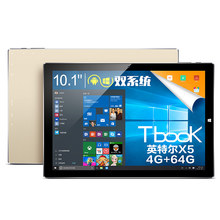 Big sale Teclast TBook10 2in1 Tablet Intel Cherry Trail Z8300 10.1 inch Dual OS Windows 10 + Android 5.1 4GB/64GB Quad Core 1.84GHz IPS