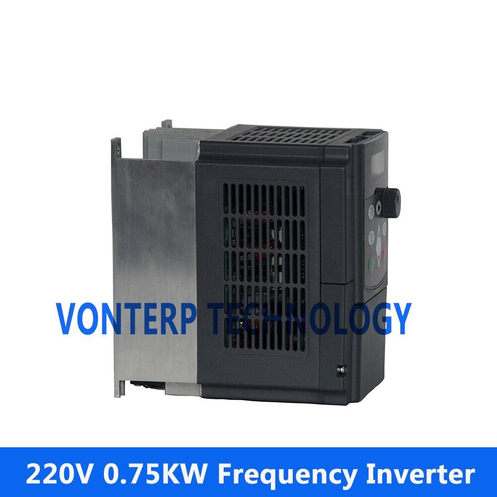 VTP5 0R7 G2 0 75KW 220v 3 phase input and 220v 3 phase output ac motor