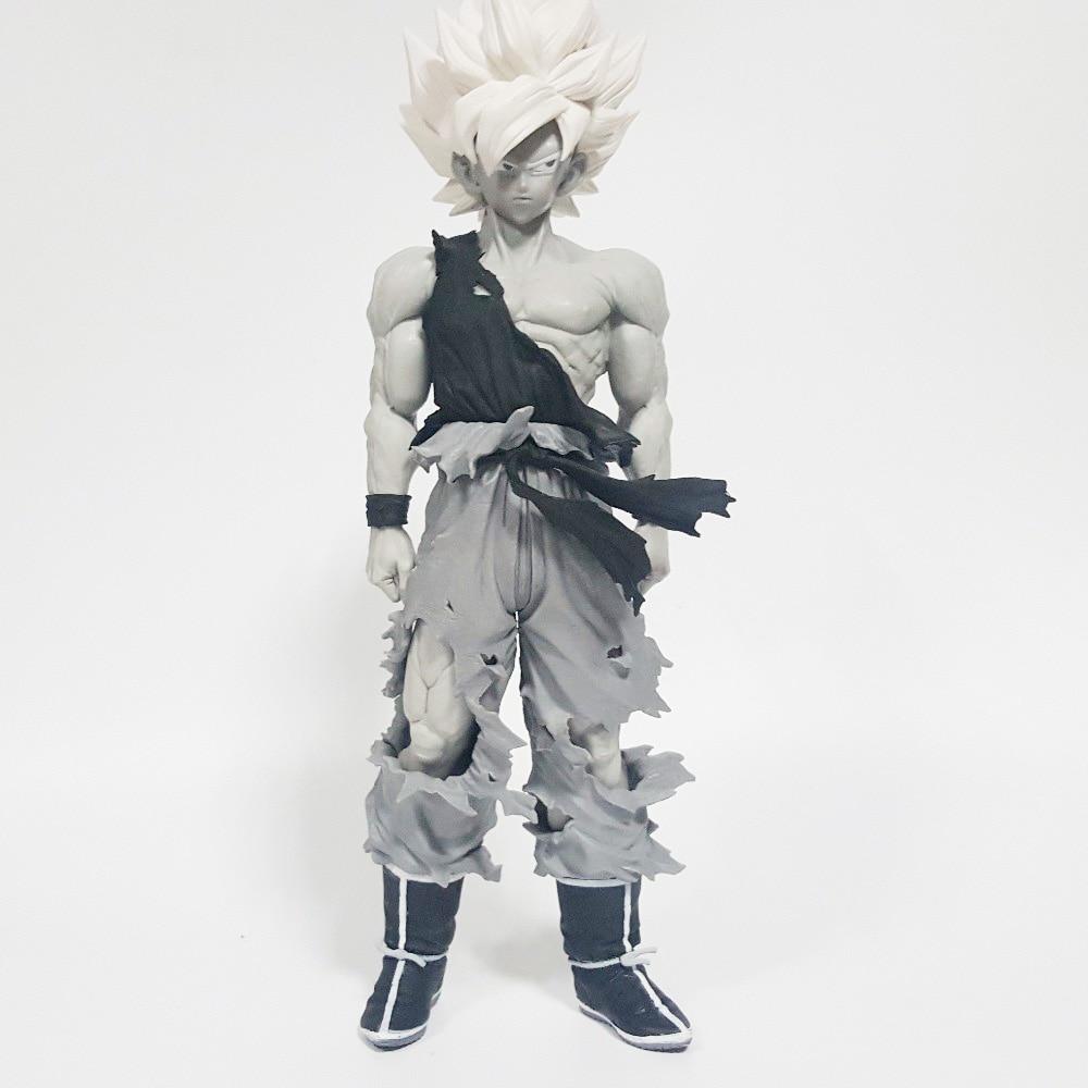 Dragon Ball Z Action Figures Super Saiyan Son Goku Grey