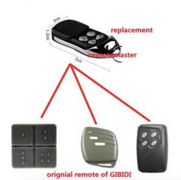 Gibidi Domino Kompatible Tor Oder Garage Fernbedienung Ausreichende Versorgung Ersatz Für Gibidi Au1600 -fernbedienung Zugangskontrolle