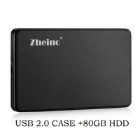 Zheino 2 5 IDE PATA 80GB Hard Drive For Laptop IBM DELL D610 D810 Inspiron 9300