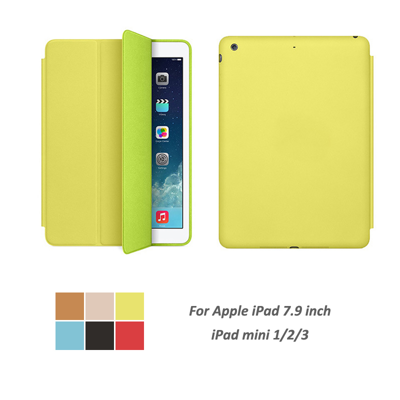 Case Auto Sleep / Wake Up Slim Cover For ipad mini1 mini2 mini3 Smart Stand Holder Folio ...