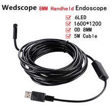 2MP 5M Android USB Endoscope HD Camera 8mm IP67 Walterproof Snake USB Camera HD720P Android Mobile USB Borescope Endoscope